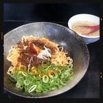 汁なし担々麺 ちりちり - 汁なし坦々麺 700円