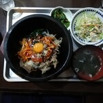韓国家庭の味 いなか家 - カルビ石焼ビビンパ