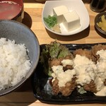 焼鳥バコン - チキン南蛮定食