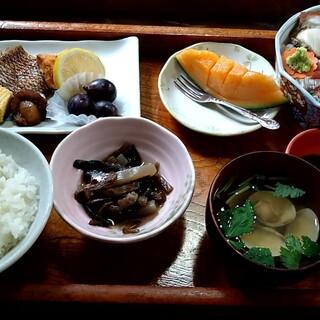 みやこや - 料理写真:おさしみ定食 竹セット