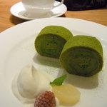 ルピシア - 有機抹茶のロールケーキ ポットティーセット