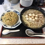 ラーメン藤 - ミニ炒飯セット ¥1180