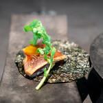 CAINOYA - GV SUSHI 鹿児島県の鰹の背と腹身の手巻き