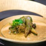 CAINOYA - とり貝のパクチージェノヴェーゼ