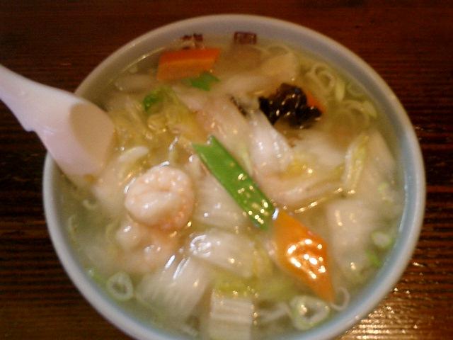 中華料理龍園 - 海老そば\580