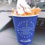カウベル - 料理写真:コーヒー&ソフトクリーム