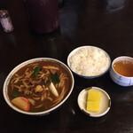太田屋 - 料理写真:うどんとご飯