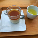 池川茶園 - 茶畑プリン(ほうじ茶)