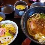 彩菜茶屋レストラン - ばら寿司定食