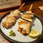 串焼・串揚げ バードスペース  東岡崎北口 - 鶏ねぎまとせせり