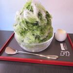 134514176 - 三日月氷菓店(宇治金時)