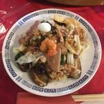 貴州大飯店 - 什錦炒麺(五目焼ソバ )900円