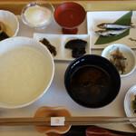 134515911 - 基本の「御饌の朝かゆ(1,230円税込)」