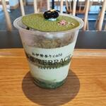 参道テラス - 料理写真:横からの図