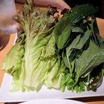 タイ田舎料理 クンヤー - ネームクックの野菜