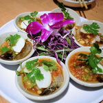 タイ田舎料理 クンヤー - クンチェーナンプラー(海老の辛口ソースがけ) 1,350円