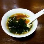 翔ちゃん - わかめスープ