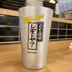 マグロ大使 - ・レモンサワー 480円