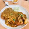 キムラヤ - 料理写真:ロースカツカレーの頭 680円