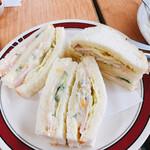 キムラヤ - サンドイッチ 660円