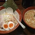 東光 - 味噌つけ麺(並盛)