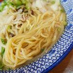 西谷家 - スープも美味いが麺もウマい!