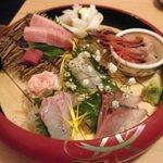134528195 - 名物鮮魚のお造り6種盛り 2人前 1980円