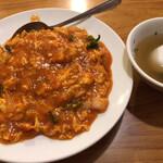 光陽楼 - 光陽楼(玉子チリソース丼)