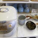 スカイロード - 白飯と白粥