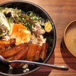 Okinawasakabaminsa - ラフテー丼