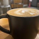 ネイバーフッドアンドコーヒー - カフェラテ