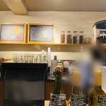 ネイバーフッドアンドコーヒー - カウンター