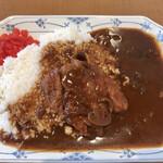 レストラン さんかくぼうし - 料理写真:カツカレービーフ(850円)