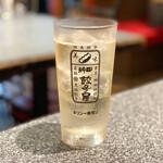 神田餃子屋 - 角ハイボール