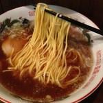 ラーメンジョニィ - にぼにぼ醤油拉麺(580円)2012年5月