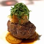 134554387 - 温前菜  神戸牛のIDEA銀座ハンバーグステーキ