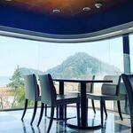 安来グランパ - 十神山が眺めて頂けます