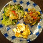 KITCHEN パッケ - 料理写真:3種盛り(盛り付け)