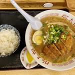 134559206 - 味噌カツラーメン&ご飯小