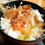 讃岐製麺 - 玉子かけごはん