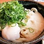 讃岐製麺 - とろ玉ぶっかけ