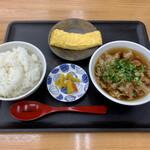 Onikuyakicchin - 肉吸い定食 ¥500