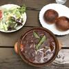 ブラン・ルージュ - 料理写真:ビーフシチューセット(パン 1,350円)