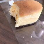 パティスリーフォンセ - 豆乳チーズ(断面)