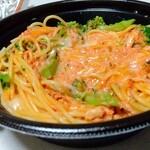 タベルナクアーレ - ズワイガニのトマトクリームスパゲティ 1,490円