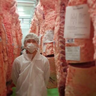 買参権を持つ目利き職人が選び抜いた高品質でウマい肉
