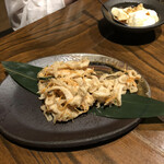 Moashibi - シリシリ 見た目悪いが美味しいよ おにぎりとね〜
