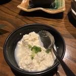 もぅあしび~ - 突き出し豆腐。