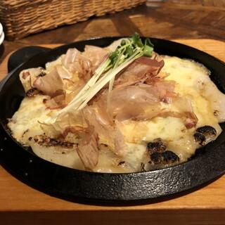 風緑 - 料理写真:もちチーズ焼き