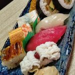 Suehiro - 盛り合わせ寿司1,550円